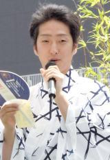 『八月納涼歌舞伎』屋上庭園イベントに出席した中村七之助 (C)ORICON NewS inc.