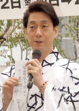 『八月納涼歌舞伎』屋上庭園イベントに出席した中村福助 (C)ORICON NewS inc.
