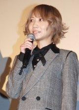 映画『TOKYO FANTASY SEKAI NO OWARI』先行イベント上映舞台あいさつに出席したSaori (C)ORICON NewS inc.