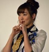 ドキュメンタリー映画『道頓堀よ、泣かせてくれ! DOCUMENTARY of NMB48』舞台あいさつに登壇した渡辺美優紀 (C)ORICON NewS inc.