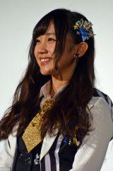 ドキュメンタリー映画『道頓堀よ、泣かせてくれ! DOCUMENTARY of NMB48』舞台あいさつに登壇したNMB48薮下柊 (C)ORICON NewS inc.