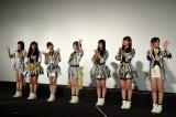 ドキュメンタリー映画『道頓堀よ、泣かせてくれ! DOCUMENTARY of NMB48』舞台あいさつに登壇したNMB48 (C)ORICON NewS inc.