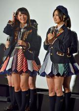 (左から)HKT48の宮脇咲良、兒玉遥 (C)ORICON NewS inc.