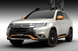 「東京オートサロン2016」三菱『アウトランダーPHEV OUTDOOR GEAR Concept』(C)Mitsubishi Motors Japan