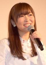 映画『尾崎支配人が泣いた夜 DOCUMENTARY of HKT48』初日舞台あいさつに登壇した指原莉乃監督 (C)ORICON NewS inc.
