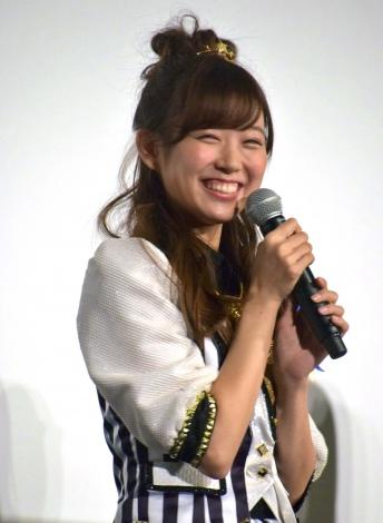 渡辺美優紀=NMB48ドキュメンタリー映画『道頓堀よ、泣かせてくれ! DOCUMENTARY of NMB48』初日舞台あいさつ (C)ORICON NewS inc.