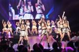 アイドルグループ『原宿駅前パーティーズ』の7人組「原駅ステージA(エース)」、19人組「ふわふわ」の2チームが、4月13日にエイベックスからCDデビュー決定 (C)ORICON NewS inc.