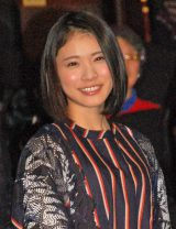 映画『猫なんかよんでもこない。』初日舞台あいさつに出席した松岡茉優 (C)ORICON NewS inc.