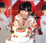 初のソロコンサートでAKB48卒業を発表した岩佐美咲 (C)oricon ME inc.