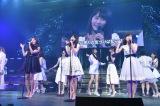 アンコールでは宮脇咲良センターのAKB48新曲「君はメロディー」初披露 (C)AKS