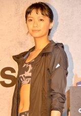 『adidas WOMEN PRESS CONFERENCE 2016』にトレーニングアンバサダーとして出席した榮倉奈々 (C)ORICON NewS inc.