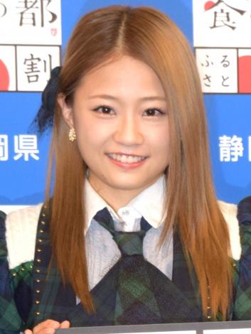 『静岡県名産品ふるさと割』発表会に出席したAKB48・島田晴香 (C)ORICON NewS inc.