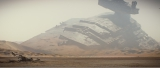 東京ディズニーランド「スター・ツアーズ:ザ・アドベンチャーズ・コンティニュー」に『スター・ウォーズ/フォースの覚醒』の世界が楽しめるスペシャルバージョンが2月2日よりスタート。※写真は「砂漠の惑星ジャクー」のイメージ(C)Disney(C)& TM Lucasfilm Ltd.