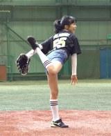 ベースボールブランド『EASTON』日本上陸記者会見に出席した小島瑠璃子 (C)ORICON NewS inc.