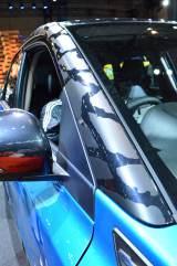 「東京オートサロン2016」カモフラージュ柄を施した展示車(C)oricon ME inc.