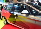 「東京オートサロン2016」塗って剥がせる塗料 Sデザインの『液体フィルムスプレー水性』で全塗装した展示車 (C)oricon ME inc.