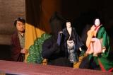 近松門左衛門の傑作浄瑠璃『曽根崎心中』の誕生秘話を創作(C)NHK