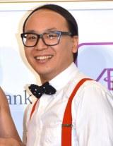 『Pepperイオンモール幕張新都心入社式』に出席したトレンディエンジェルのたかし (C)ORICON NewS inc.