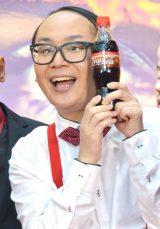 『コカ・コーラ』新グローバルキャンペーンPRイベントに出席したトレンディエンジェルのたかし (C)ORICON NewS inc.
