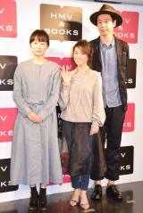 映画『ロマンス』のBlu-ray&DVD発売記念イベントに出席した(左から)タナダユキ監督、大島優子、大倉孝二 (C)ORICON NewS inc.