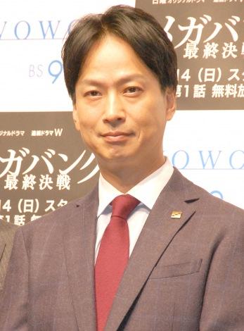 『連続ドラマW メガバンク最終決戦』の完成披露試写会に出席した椎名桔平 (C)ORICON NewS inc.