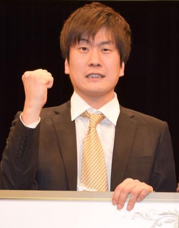 交際中のやしろ優に求婚すると語った笑撃戦隊の野村辰ニ (C)ORICON NewS inc.