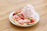 日本上陸6周年を記念したアニバーサリーパンケーキ『レアレアパンケーキ』