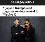 「ロサンゼルス・タイムズ」で映画『We Are X』を特集