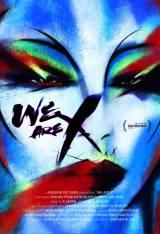X JAPANのドキュメンタリー映画『We Are X』ポスター