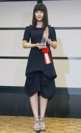 『2016年エランドール賞』授賞式に出席した有村架純 (C)ORICON NewS inc.
