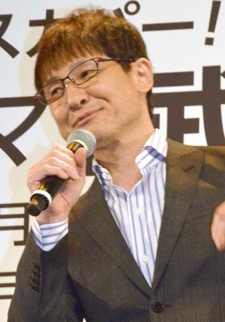 ドラマ『武道館』の完成披露舞台あいさつに登壇した木下ほうか (C)ORICON NewS inc.