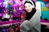 バレンタイン女子会でDJプレイを披露した中田クルミ