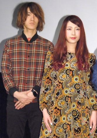 映画『鉄の子』の特別試写会に出席したGLIM SPANKY(左から)亀本寛貴、松尾レミ (C)ORICON NewS inc.