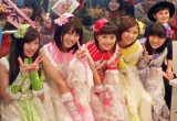 TOKYO FM『COUNTDOWN JAPAN』公開生放送に出演したももいろクローバーZ