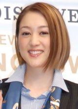 出産を報告したSHELLY(C)ORICON NewS inc.