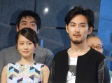 恋人役で共演した(左から)前田敦子、松田龍平 (C)ORICON NewS inc.