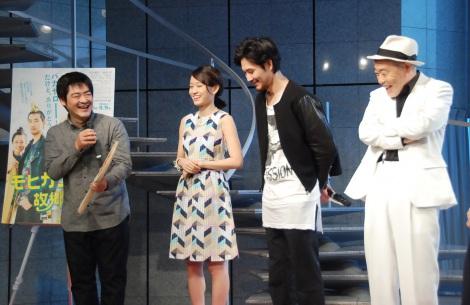 映画『モヒカン故郷に帰る』ヒット祈願イベントの模様 (C)ORICON NewS inc.