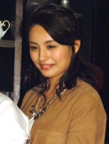 BS局Dlife『一杯からはじまるストーリー』放送開始記念カフェ会見に出席したマリアム (C)ORICON NewS inc.