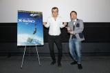 映画『X-ミッション』公開記念イベントに出席したジョイマン