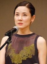 『第58回ブルーリボン賞』で助演女優賞を受賞した吉田羊 (C)ORICON NewS inc.