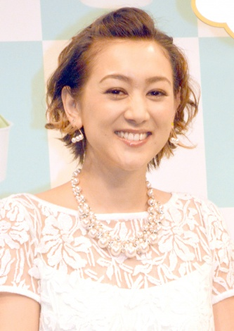 出産を生報告したSHELLY(C)ORICON NewS inc.