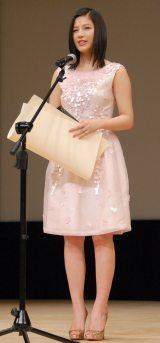 『第58回ブルーリボン賞』で新人賞を受賞した石井杏奈 (C)ORICON NewS inc.