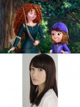 アニメ『ちいさなプリンセス ソフィア』に登場するメリダの声を大島優子が3年ぶりに熱演(C)Disney