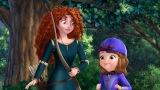 アニメ『ちいさなプリンセス ソフィア』にメリダが登場。2月11日、ディズニー・チャンネルで日本初放送(C)Disney