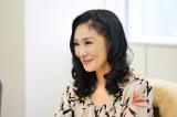 松田聖子の大ヒット曲「赤いスイートピー」をモチーフにしたドラマに出演する浅野温子(C)BSジャパン