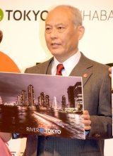 東京都庁で行われた『&TOKYO』活用事例発表会に出席した舛添要一都知事 (C)ORICON NewS inc.