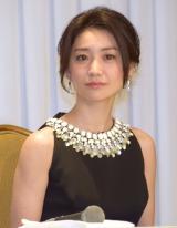 舞台『美幸−アンコンディショナルラブ−』の制作発表会見に出席した大島優子 (C)ORICON NewS inc.