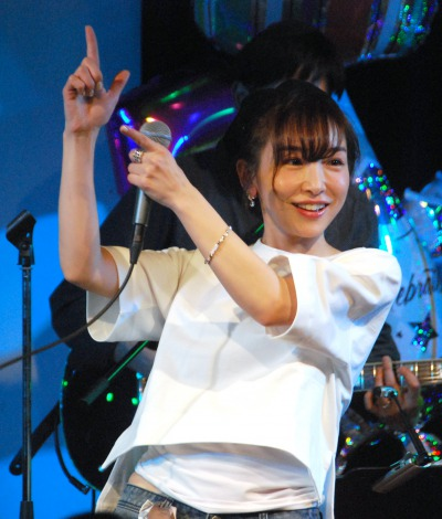 超超超いい感じ=『加護亜依 28th Birthday Live』 (C)ORICON NewS inc.