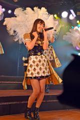 AKB48チームA7th『M.T.に捧ぐ』公演初日公開ゲネプロより小嶋陽菜(10日=AKB48劇場) (C)ORICON NewS inc.