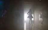 シルエットを映し出す新しい照明を取り入れた(10日=AKB48劇場) (C)ORICON NewS inc.